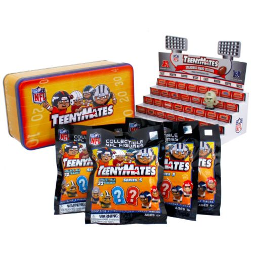 NFL TeenyMates Series 5 Collector Tin Set