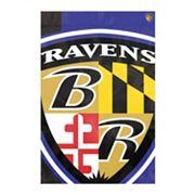 Baltimore Ravens Bold Logo Banner Flag