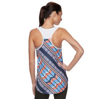 Women's FILA SPORT® Chevron Print Mesh Tank Top