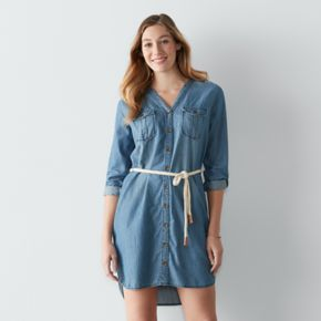 Women's SONOMA Goods for Life? Chambray Shirtdress