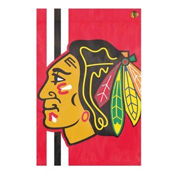 Chicago Blackhawks Bold Logo Banner Flag