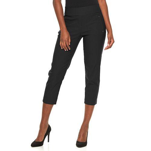 Women's Apt. 9® Millennium Pull-On Capri Dress Pants