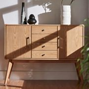 HomeVance Skagen Natural Finish 4-Drawer Accent Cabinet