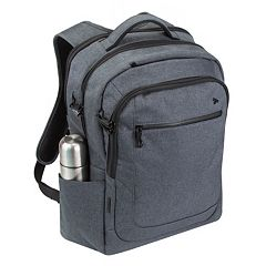053842645356 Travelon Anti-Theft Urban Laptop Backpack. Black Slate