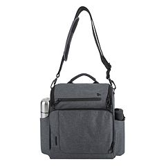 Travelon Anti-Theft Urban North-South Messenger Bag