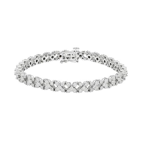 10k White Gold 1 3 8 Carat T W Diamond