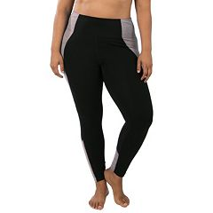Plus Size Marika Xtreme Splice Space-Dye Leggings