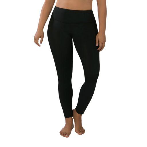 Plus Size Marika Sage Spliced Leggings