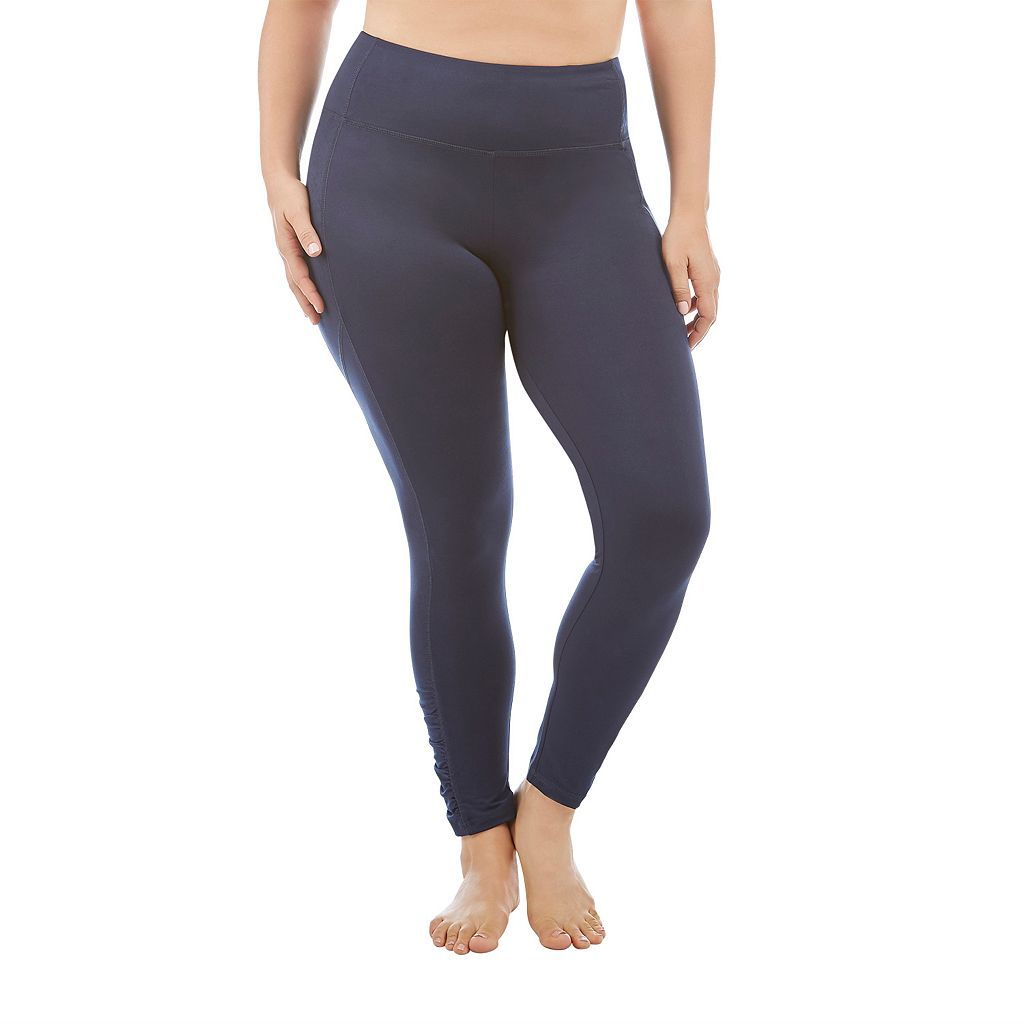 Plus Size Marika Sage Spliced Leggings