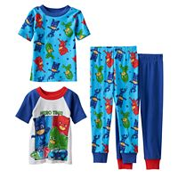 Toddler Boy PJ Masks Owlette, Catboy & Gekko 4-pc. Pajama Set