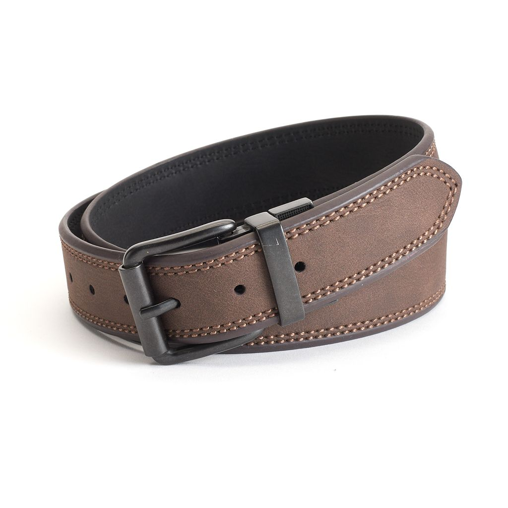 Men's Levi's® Reversible Beveled-Edge Double-Stitched Belt
