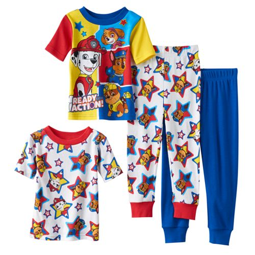 Paw Patrol Boys Chase Marshall and Rubble Joggers