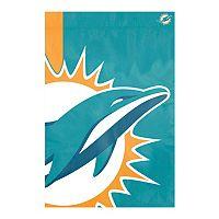 Miami Dolphins Bold Logo Banner Flag