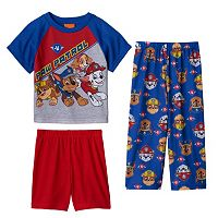 Toddler Boy Paw Patrol Chase, Rubble, Skye & Marshall Pajama Set