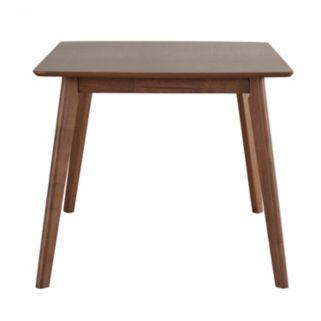 HomeVance Skagen Walnut Finish Dining Table & Chair 7-piece Set
