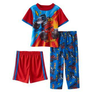 Toddler Boy Blaze & the Monster Machines Blaze vs. Crusher 3-pc. Pajama Set