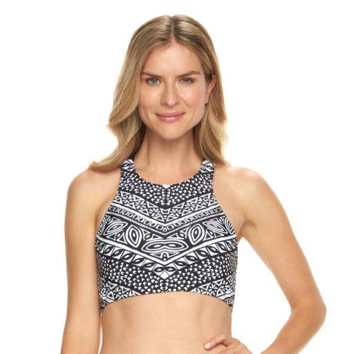 Women's Chaps Tribal High-Neck Bikini Top