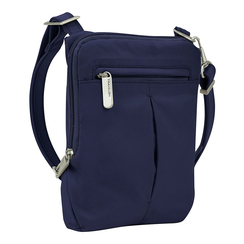 Travelon Anti-Theft Classic Slim Mini Crossbody Bag