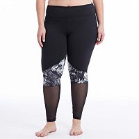 Plus Size Balance Collection Yin Yang Leggings