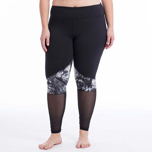 Plus Size Balance Collection Yin Yang Leggings
