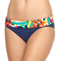 Women's Chaps Floral Hipster Bikini Bottoms