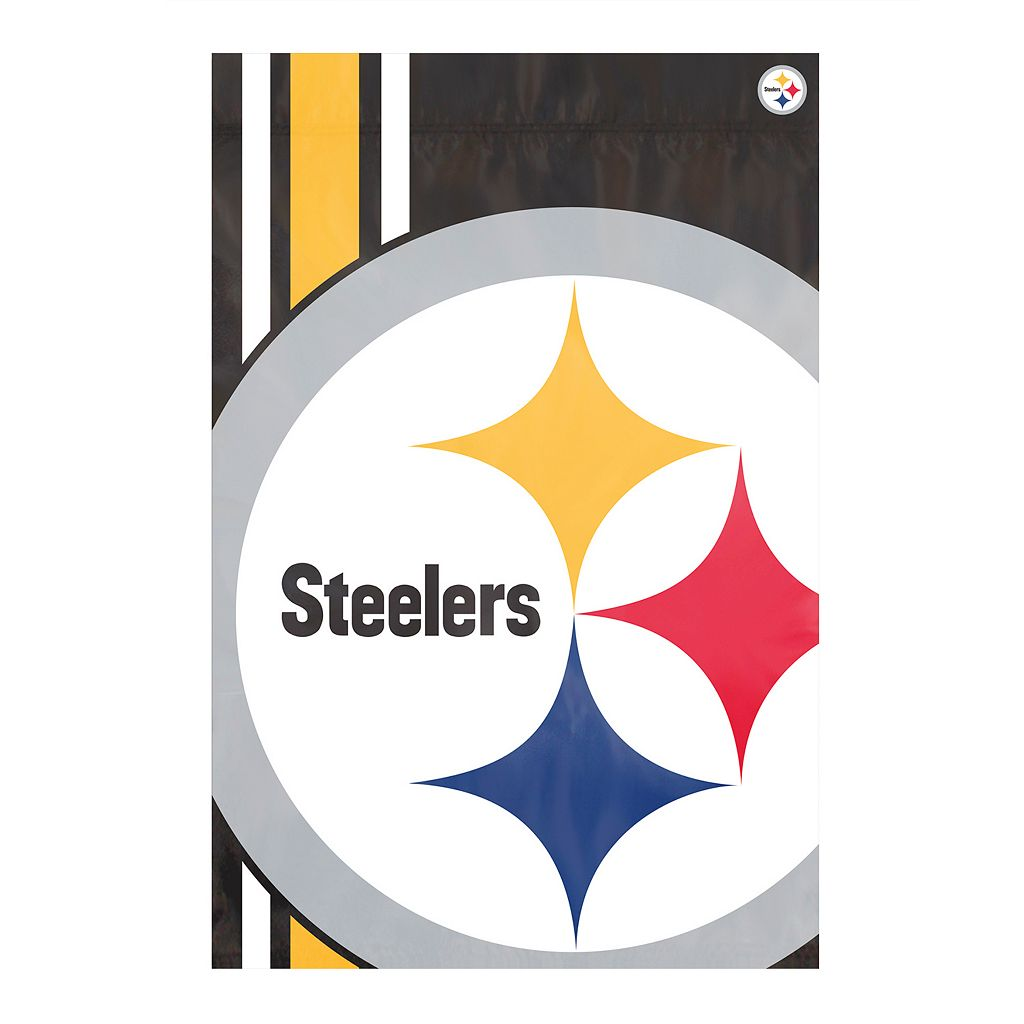 Pittsburgh Steelers Bold Logo Banner Flag