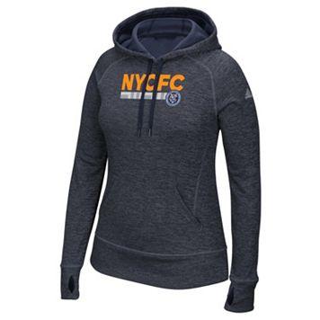 Women's adidas New York City FC Team Bar Hoodie