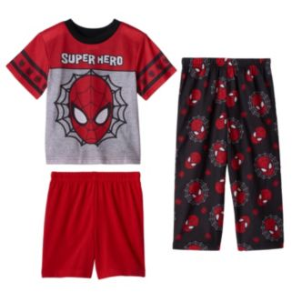 "Toddler Boy Marvel Spider-Man ""Superhero"" 3-pc. Pajama Set"