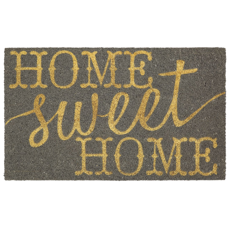 Mohawk® Home U0027u0027Home Sweet Homeu0027u0027 Coir Doormat   18u0027u0027