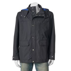 Big & Tall Tower by London Fog 3-in-1 Hooded Parka