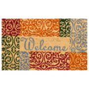 Mohawk® Home Tudor Elegance ''Welcome'' Coir Doormat - 18'' x 30''