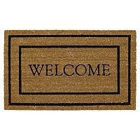 Mohawk® Home Classic ''Welcome'' Coir Doormat - 18'' x 30''