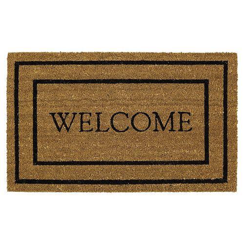 Mohawk® Home Classic ''Welcome'' Coir Doormat - 18'' x 30''