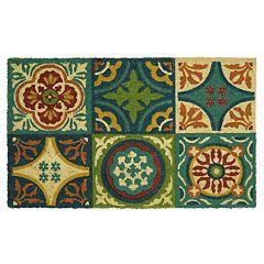 Mohawk® Home Coir Tiles & Medallions Doormat - 18'' x 30''