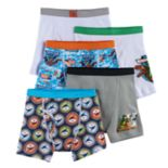 Boys 4-8 Jurassic Park 5-Pack Boxer Briefs