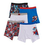 Boys 4-8 Marvel Ultimate Spider-Man 5-Pack Boxer Briefs