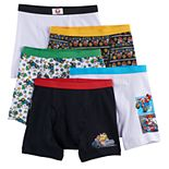 Boys 4-8 Super Mario Bros. 5-pack Boxer Briefs
