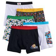 Boys 4-8 Super Mario Bros. 5-pack Boxer Briefs