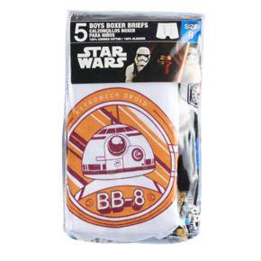 Boys 4-8 Star Wars 5-pack Boxer Briefs