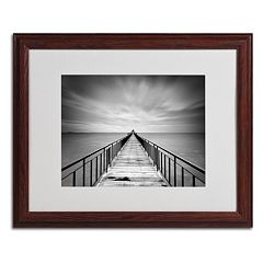 Trademark Fine Art Withstand Framed Wall Art