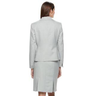 Le Suit Tonal Zig Zag Jacket Skirt Suit