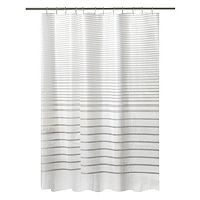 Bath Bliss Stripe Shower Curtain Set