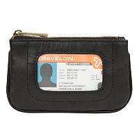Travelon Leather RFID-Blocking Pouch Wallet
