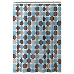 Bath Bliss Circles Shower Curtain Set