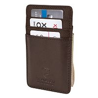 Travelon Leather RFID-Blocking Money Clip