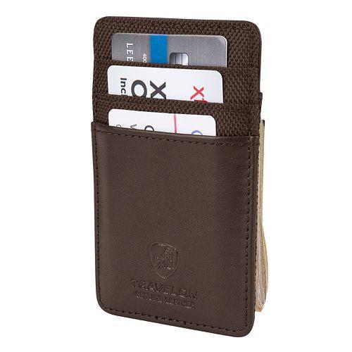 Travelon Leather RFID-Blocking Money Clip