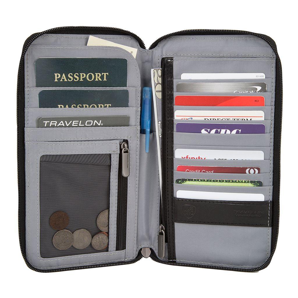 Travelon Safe ID Executive Organizer Wallet