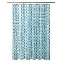 Bath Bliss Hexagon Shower Curtain Set