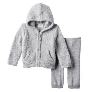 Baby Girl Cuddl Duds Hoodie & Heart Pants Set