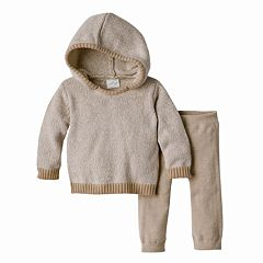Baby Boy Cuddl Duds Hooded Sweater & Pants Set